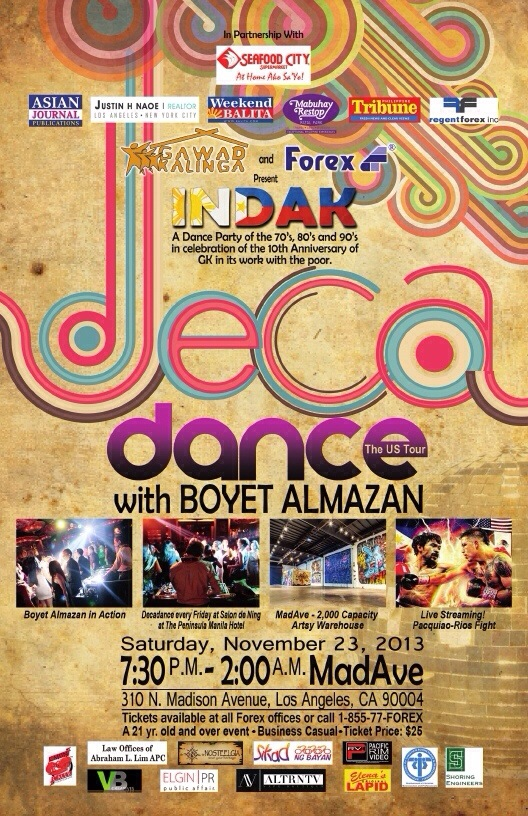 Decadance, dance and party with us and make a difference!